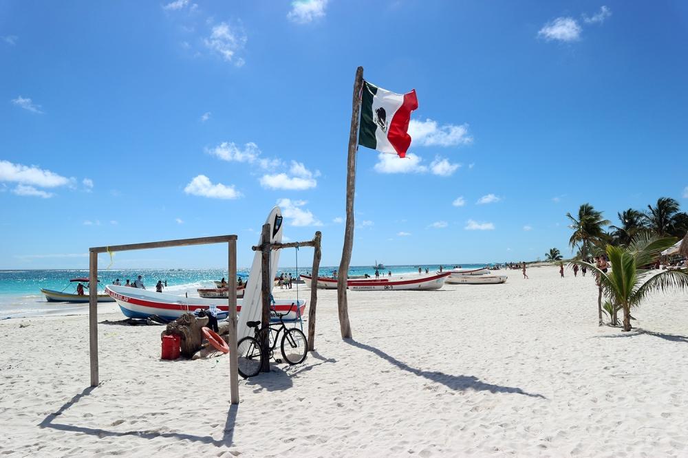Tulum plage itineraire yucatan mexique road trip