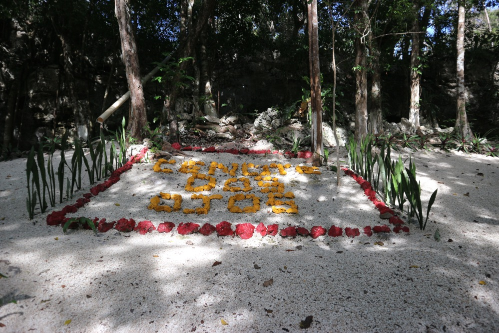 Tulum cenote dos ojos itineraire yucatan mexique