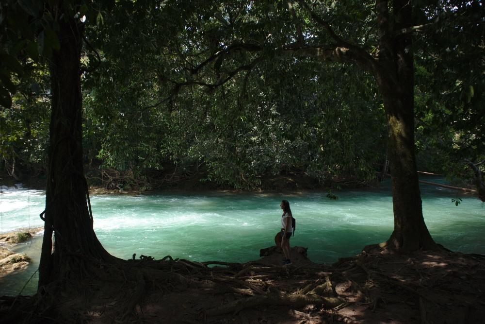 Agua azul chiapas mexique itinéraire road trip