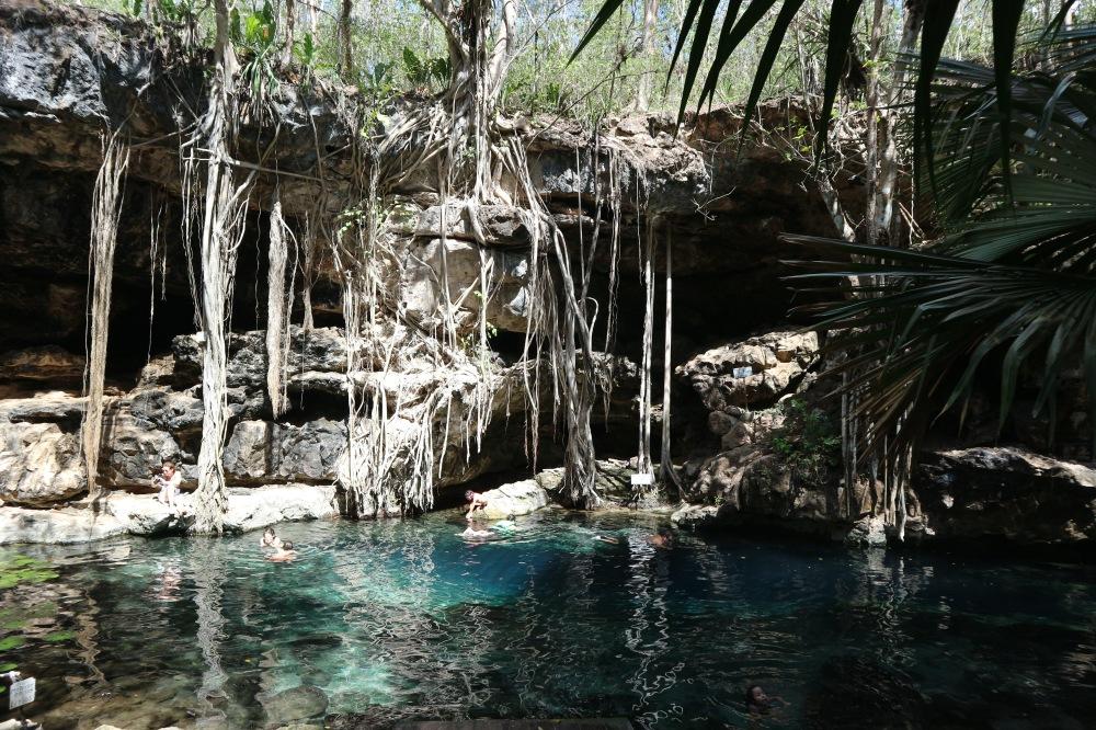 cenote uxmal dzombacal x batum mexique itinéraire road trip yucatan
